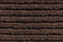 Bruce Starke Trio Rib Door Mat - 50 x 80cm Brown